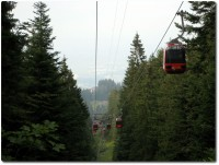 Gondelbahn zum Pilatus bzw. zur Frkmntegg
