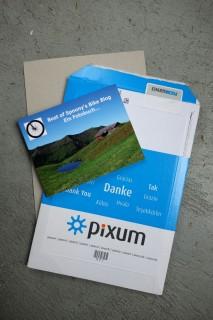 PIXUM Fotobuch - Verpackung