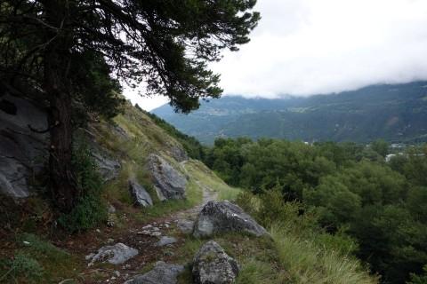 Unverhoffte Trails am Platten