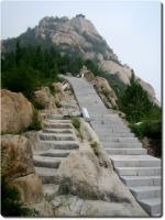 Alte und neue Treppe