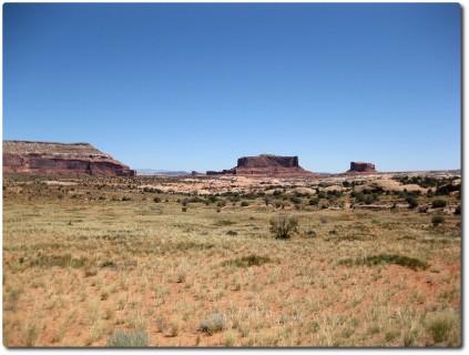 Einfahrt zum Canyonlands Nationalpark