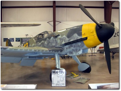 Planes of Fame Air Museum - Me 109