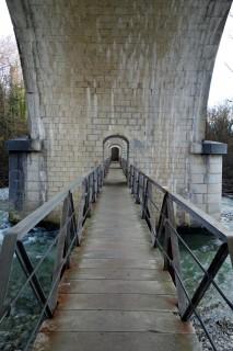 Eisenbahnbrücke Allondon 1