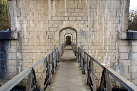 Eisenbahnbrücke Allondon 2