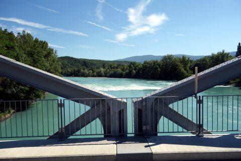 Pont de Chancy - Rhône