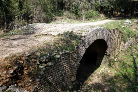 Römische Brücke der Via Julia Augusta