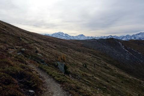 Trail zur Portail de Fully