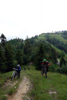 Hike a Bike nach Ahorn