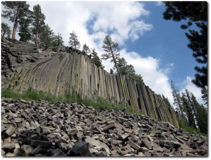 Devils Postpile Basaltsäulen