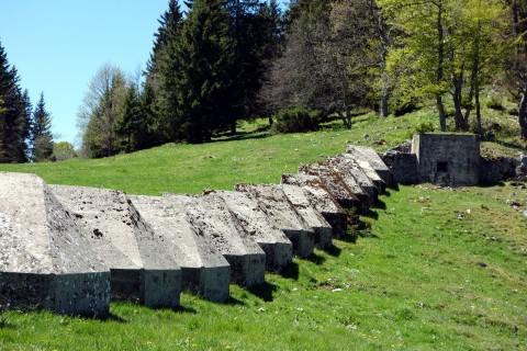 La Poyette - mehr Panzersperren