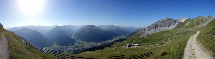 Panoramaweg am Davoser Berg