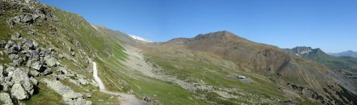 Panoramaweg bei der Totalp