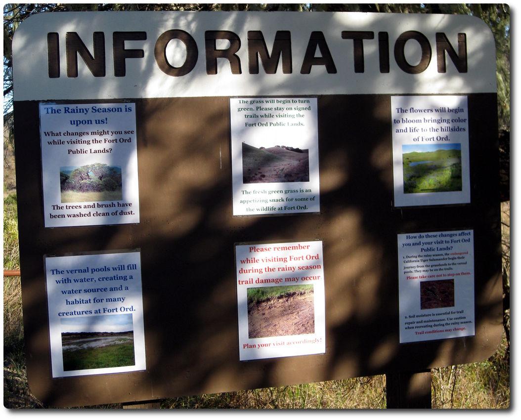 Regensaison Regeln in Fort Ord