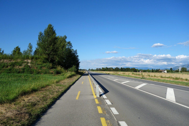 Zurück auf der Route de Chancy