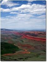 Red Canyon vor Lander