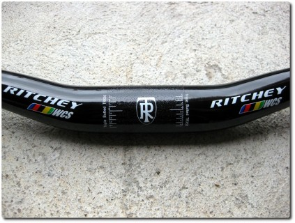 Ritchey WCS Riser Lenker - wet black