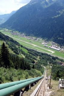 Bergstation Ritom - Flugplatz Ambri