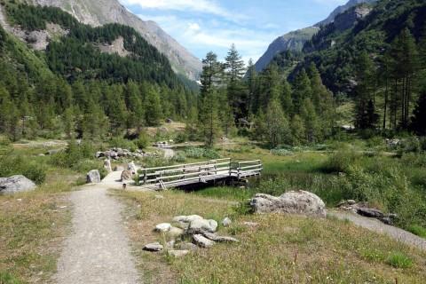 Steinerklärgarten beim Camping