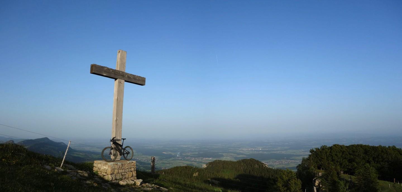 Panorama Röti - Kreuz - Bike
