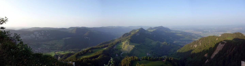 Röti - Panorama in Richtung Balmberg