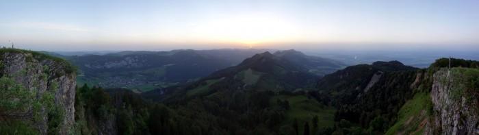 Röti - Sonnenaufgang