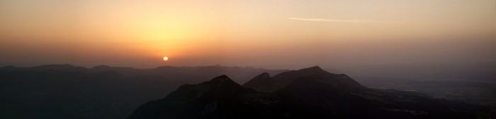 Röti - Panorama Sonnenaufgang