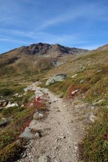 Aufstieg zur Nanzlicke - Rossu