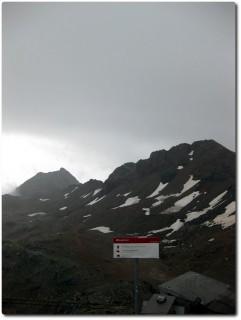 Parpaner Rothorn bei miesem Wetter
