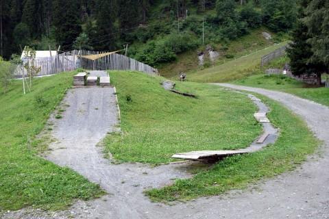 Skill Area Talstation Laax Bergbahnen