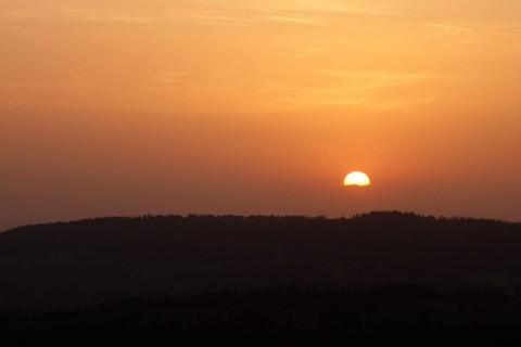 Röti - Sonnenuntergang