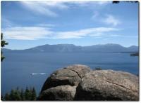 Rubicon Trail - Blick auf den Lake Tahoe