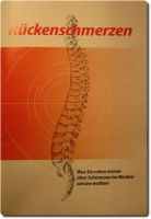 Rückenschmerzen Broschüre