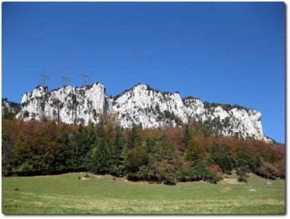 Kantonsgrenze auf dem Rüttelhorn...
