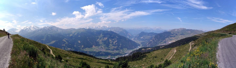 Höhenweg nach Les Ruinettes