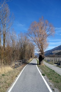 Radweg Reschensee - Meran
