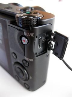 Sony DSC-RX100 USB Anschluss