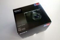 Sony DSC-RX100 Box