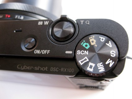 Sony DSC-RX100 Bedienknöpfe
