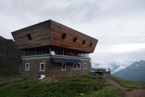 SAC Hütte Corno Gries - von oben