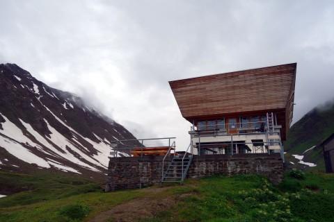 SAC Hütte Corno Gries - von unten