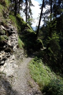 Trail im Sackgrabe