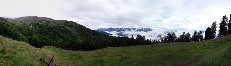 Pause und Panorama Alp Sädolti