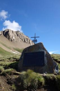 Saflischpass - Soldatendenkmal
