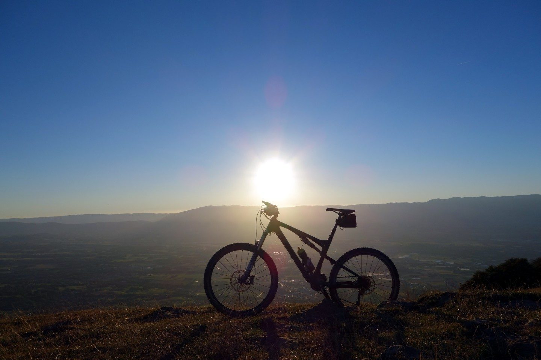 Sonnenuntergang Salève - Fototest 1