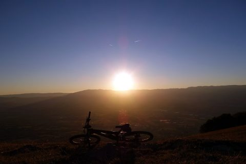 Sonnenuntergang Salève - Fototest 2