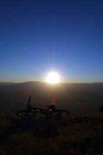 Sonnenuntergang Salève - Fototest 3