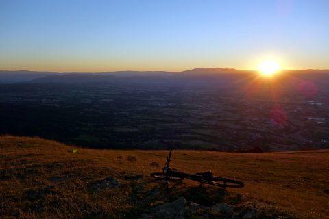 Sonnenuntergang Salève - Fototest 4