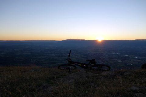 Sonnenuntergang Salève - Fototest 5