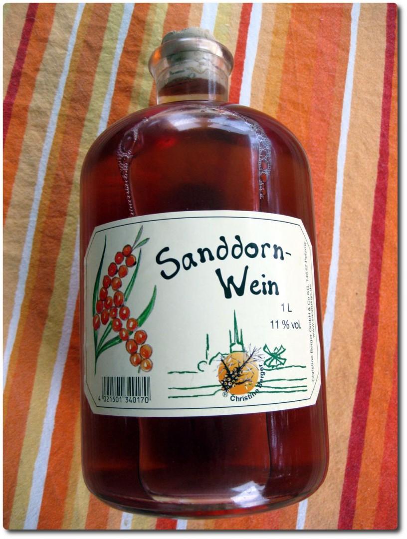 Sanddorn Wein