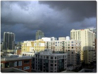 Kaltwetterfront des Jahres in San Diego